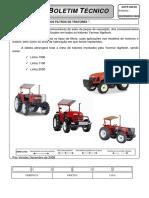 AGTR022- TABELA DE FILTROS PARA TRATORES AGRITECH