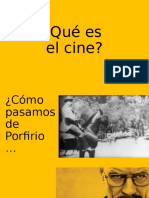 Qué es el cine