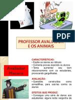 PROFESSOR AVALIADOR  E OS ANIMAIS