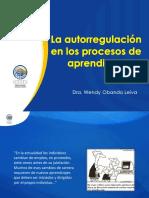 La autorregulación en los procesos de aprendizaje_Obando