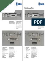Manual de Pellets Hardness Test - Durometro