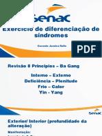 Exercício de diferenciação de síndromes
