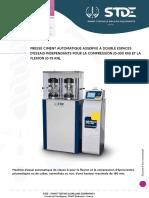 Presse Ciment Automatique Asservie a Double Espace 15-300 Kn selon en 196