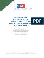 Reglamento farmacias veterinarias