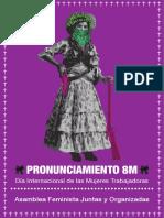 Pronunciamiento 8M