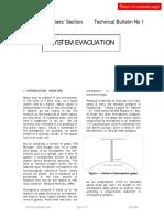 Bulletin 1- evacuation