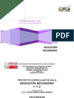 PROYECTO SECUNDARIA 2016 - 2017.docx