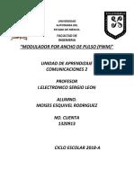reporte pwm