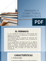 Pàrrafo y Conectores Gramaticales