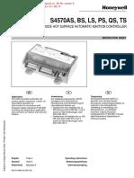 Automat de aprindere Honeywell S4570AS - Pliant date tehnice.pdf