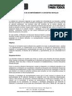 ESTRATEGIA DE ACOMPAÑAMIENTO A DOCENTES NOVELES