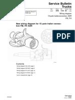 15-Pole Trailerconnection ADR