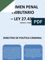 curso derecho penal tributario - romero villanueva