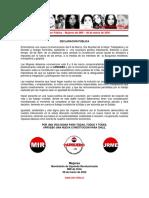 08marzo2020 - Declaración Pública – Mujeres Del MIR