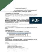 TDR DE INSTALACION EQUIPO SONIDO