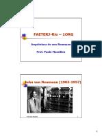 1 - Arquitetura de von Neumann e Programa do IAS - 2spp