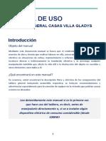 MANUAL DE USO_VILLA GLADYS