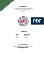 Tugas Interfacing Pembuatan Program Transaksi Pembayaran