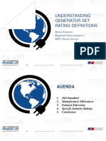 Understanding Generator Set Ratings
