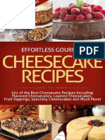 Effortless Gourmet Cheesecakes - Delicious Cheesecake Desserts and Recipes -101 Cheesecake Dessert Recipes_ New York Style, ... Pastry, Cake and Baking Desserts) ( PDFDrive.com )
