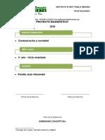Proyecto de diagnóstico - Comunicación y sociedad - Prof Peralta