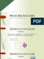 Aula Fisio UniSALESIANO sobre Medicina Nuclear