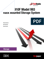 BM DS8910F Model 993Rack Mounted Storage System