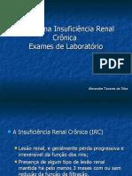 Anemia na Insuficiência Renal Crônica Exames de Laboratório