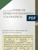 EL TRASTORNO DE ESTRÉS POSTRAUMÁTICO Y LA VIOLENCIA