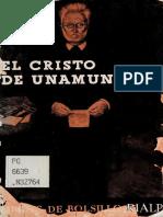 Marrero, Vicente - El Cristo de Unamuno