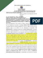 ACTA DE AUDIENCIA INICIAL