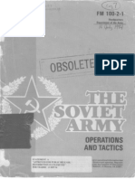FM 100-2-1 the Soviet Army - Operations and Tactics