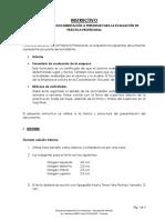INSTRUCTIVO ELABORACIÓN DE INFORMES DE PRÁCTICAS