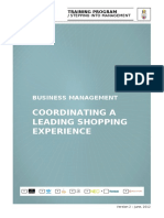 Coordinating a leading shopping experience_ESP