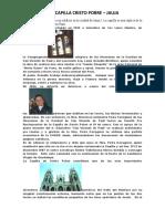 CAPILLA CRISTO POBRE