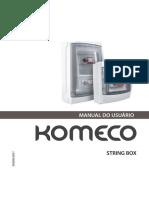 Manual StringBox - Komeco