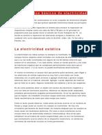 CONCEPTOS BASICOS ELECTRICIDAD