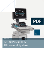 Elite. Datasheet. ACUSON NX3 Elite Ultrasound System
