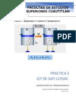 GAY LUSSAC PRACTICA 5