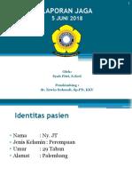LAPORAN JAGA- SLE.pptx