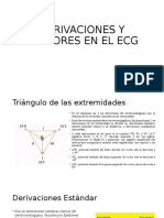 DERIVACIONES Y VECTORES EN EL ECG