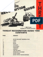 Threat Recognition Guide, 1988