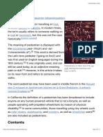 Pedestrian - Wikipedia.pdf
