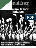Zionism is Not Judiasm