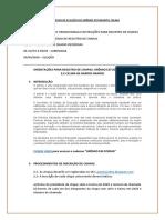 Cronograma Do Processo de Eleição Do Grêmio Estudantil Celina