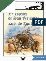 La espada de San Fernando - Luis de Eguilaz