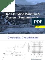 Open Pit Mine Planning Fundamentals EP