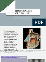 COMUNICACION OROSINUSAL