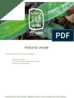 Historia verde PUJ