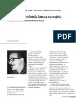 """CULLEN, CARLOS,  """"La América profunda busca su sujeto"""" en Revista Espacios de Crítica y Producción (Buenos Aires, 2010)-convertido"""
